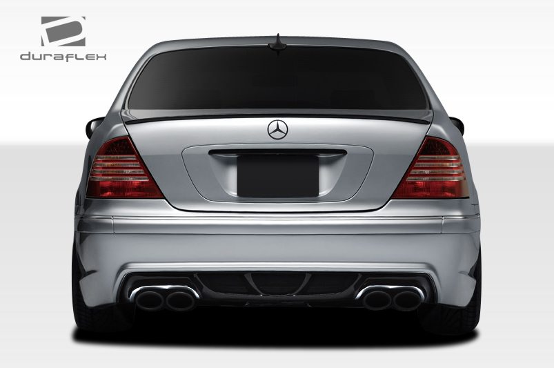 cla w220 duraflex w 2 rear bumper cover 1 piece for mercedes s 00 rh ebay com W220 S-Class W220 S-Class