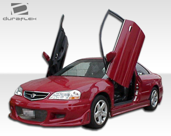 01 03 acura cl evo 3 overstock side skirts body kit 102303 ebay. Black Bedroom Furniture Sets. Home Design Ideas