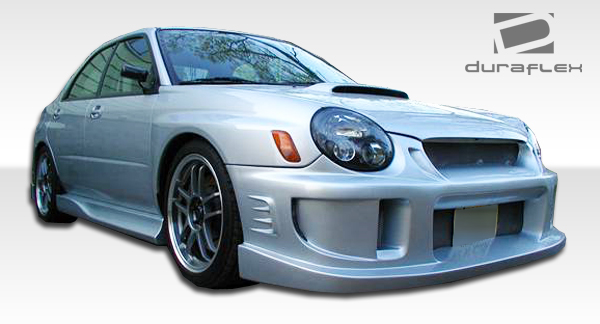 fits 2002 2003 impreza wrx sti duraflex a spec front. Black Bedroom Furniture Sets. Home Design Ideas