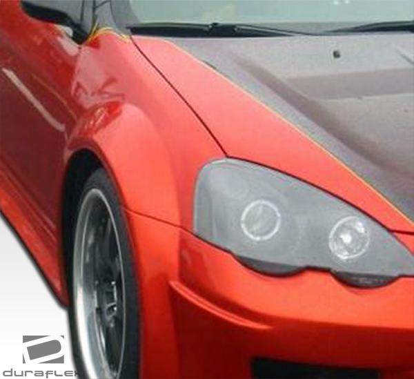 2006 Acura RSX Fiberglass+ Fender Body Kit