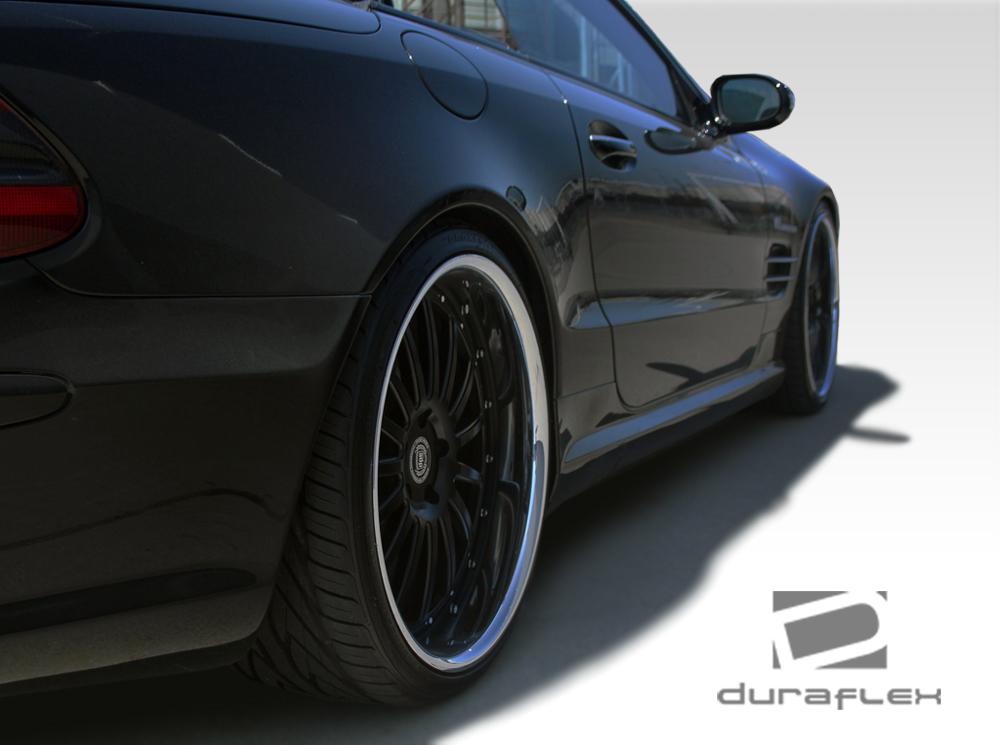 2005 Mercedes SL - Mercedes  Fiberglass+ Sideskirts Body Kit - 2003-2012 Mercedes SL Class R230 Duraflex AMG Look Side Skirts Rocker Panels - 2 Piece