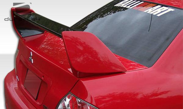 Evolutionevo Wing on Mitsubishi Lancer Evolution