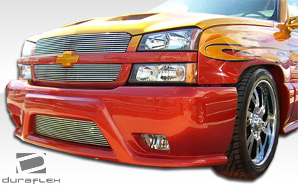 03 Chevy Front Bumpers : Chevy silverado avalanche duraflex platinum