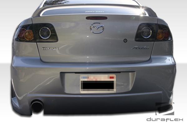 2005 mazda 3 trunk diagram 2005 mazda mazda 3 4dr fiberglass+ rear bumper body kit ...