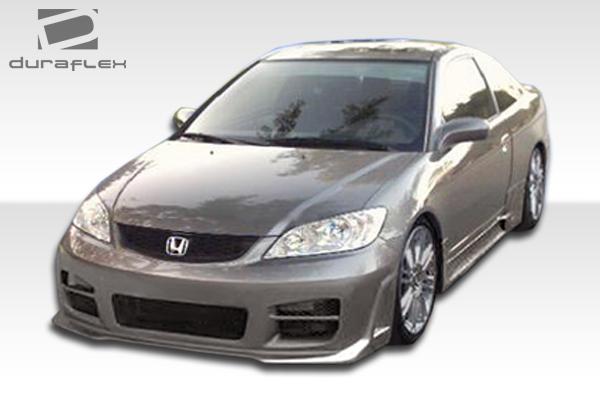 2004 2005 Honda Civic Duraflex R34 Front Bumper Cover 1
