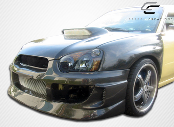extreme dimensions 2004 2005 subaru impreza wrx sti carbon creations gt competition front bumper. Black Bedroom Furniture Sets. Home Design Ideas