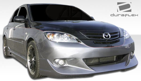 welcome to extreme dimensions inventory item 2004 2009 mazda 3 hb duraflex trinity front. Black Bedroom Furniture Sets. Home Design Ideas
