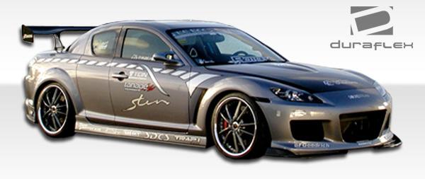 2004 2008 mazda rx 8 duraflex m 1 speed front bumper cover. Black Bedroom Furniture Sets. Home Design Ideas