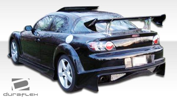 2004 2011 Mazda Rx 8 Duraflex Vader Rear Bumper Cover 1