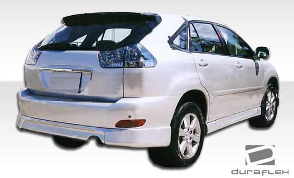 2007 lexus rx fiberglass rear lip add on body kit 2004. Black Bedroom Furniture Sets. Home Design Ideas