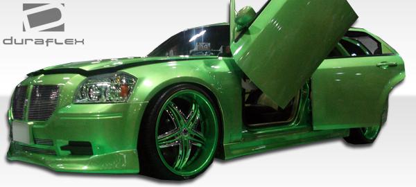 05-07 Dodge Magnum VIP Duraflex Front Bumper Lip Body Kit!! 102435