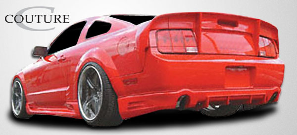 2005 2009 Ford Mustang Couture Demon Rear Lip Under