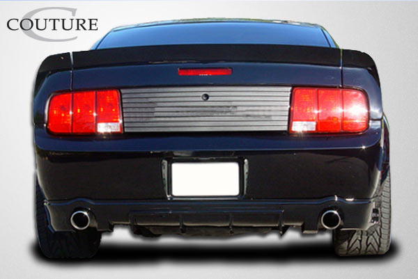 05 09 ford mustang demon couture rear bumper lip body kit. Black Bedroom Furniture Sets. Home Design Ideas