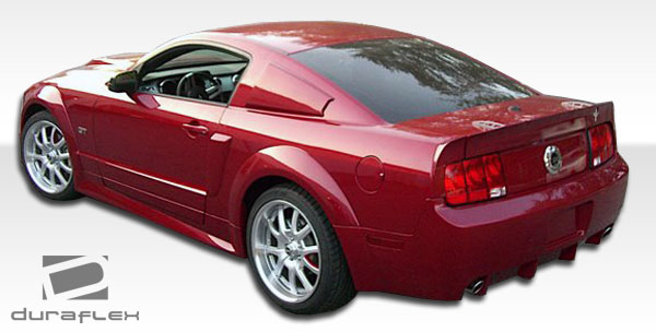 2008 ford mustang fiberglass rear bumper body kit 2005. Black Bedroom Furniture Sets. Home Design Ideas