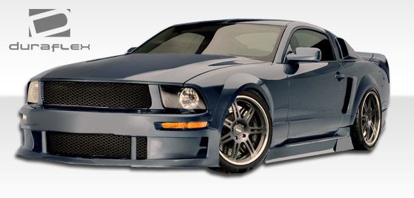 2005 2009 ford mustang duraflex gt concept front bumper. Black Bedroom Furniture Sets. Home Design Ideas