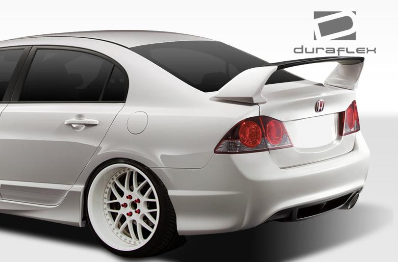 06 11 Honda Civic 4dr Duraflex Jdm Type R Conversion Rear