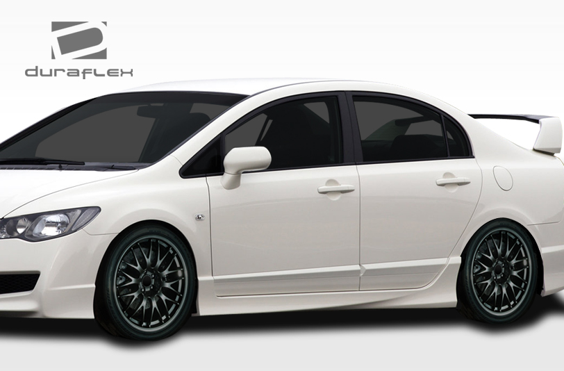 Welcome to Extreme Dimensions :: Item Group :: 2006-2011 Honda Civic 4DR Duraflex JDM Type R ...