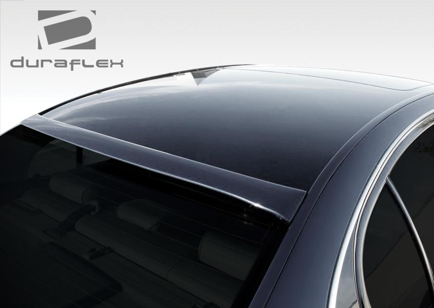 2009 Lexus GS  Fiberglass+ Wing Spoiler Body Kit - 2006-2011 Lexus GS Series GS300 GS350 GS430 GS450 GS460 Duraflex Series VIP Roof Wing Spoiler - 1 Piece
