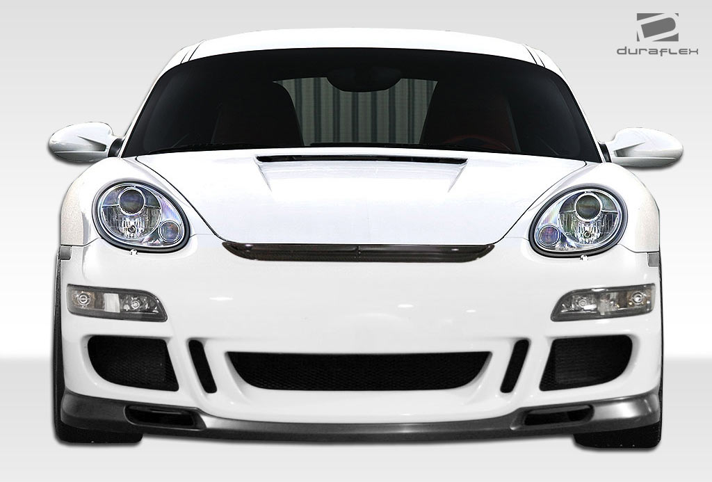 05 12 porsche cayman gt3 r duraflex front bumper lip body. Black Bedroom Furniture Sets. Home Design Ideas