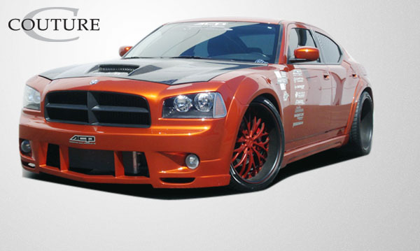 fit 2006 2010 charger couture luxe wide body front fender flares 2pc body kit. Cars Review. Best American Auto & Cars Review