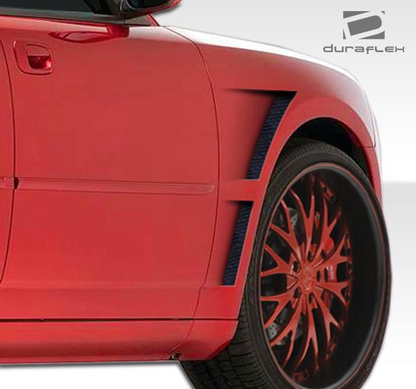Chrysler 300 2006 Ground Effects Package: Fiberglass+ Fender Body Kit For 2010 Dodge Charger