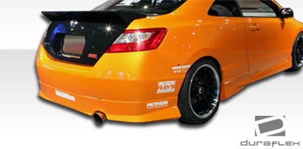 103337 06-11 Honda Civic 2DR Type M Duraflex Side Skirts Body Kit!!