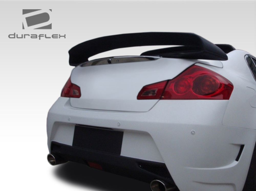 Custom 2007 Infiniti G35 Sedan >> Duraflex Elite Rear Wing Spoiler Body Kit fits 2007-2013 G Sedan G25 G35 G37 | eBay