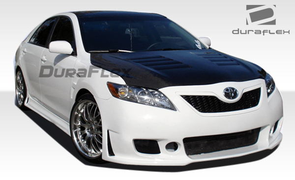 2007 2009 toyota camry duraflex b 2 front bumper cover 1. Black Bedroom Furniture Sets. Home Design Ideas