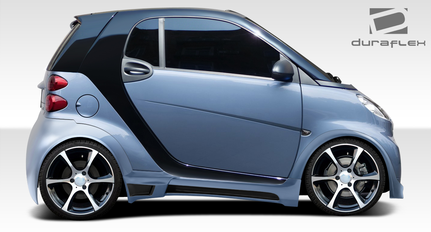 extreme dimensions item group   smart fortwo duraflex gt wide body