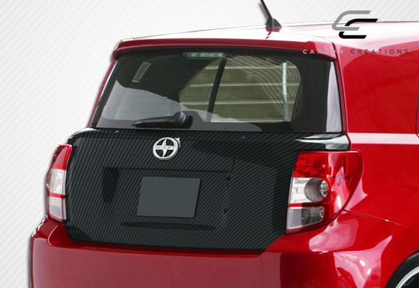 08 14 scion xd oem overstock carbon body kit trunk hatch. Black Bedroom Furniture Sets. Home Design Ideas
