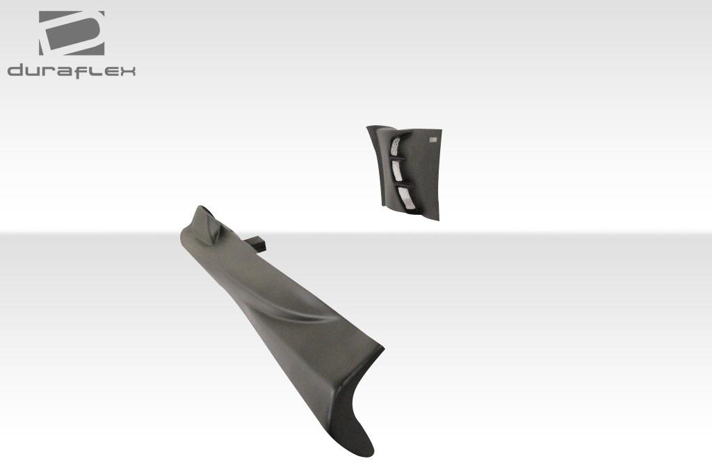 duraflex 101708 vader side skirts rocker panels 4 piece fit bmw z3 96 02. Black Bedroom Furniture Sets. Home Design Ideas