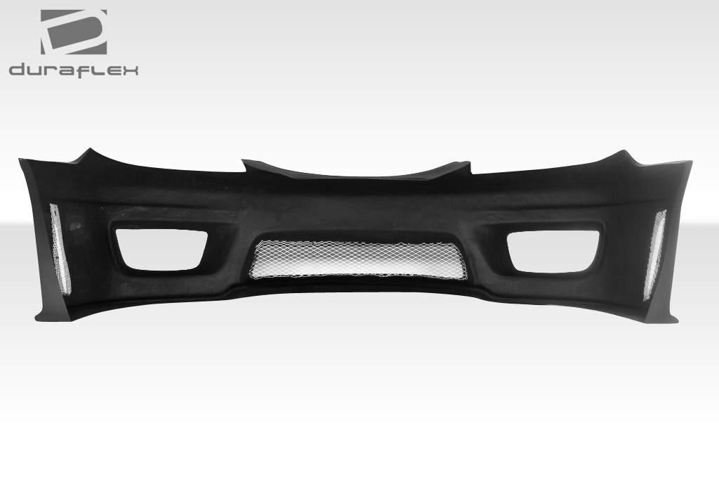 2002 2006 toyota camry duraflex sigma front bumper cover 1 piece body kit ebay. Black Bedroom Furniture Sets. Home Design Ideas