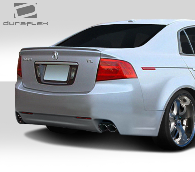 Fiberglass+ Rear Bumper Body Kit For 2007 Acura TL