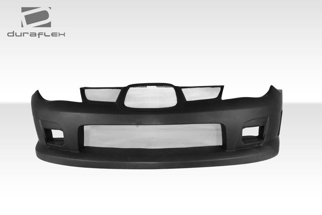 Fits 06 07 Impreza Wrx Sti 4dr Duraflex Gt500 Wide Body Front Bumper Body Kit Ebay
