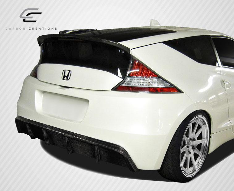 Extreme Dimensions 2017 2016 Honda Cr Z Carbon Creations Jp Design Rear Diffuser 1 Piece