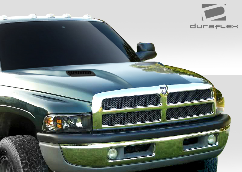 Hood Body Kit For 1997 Dodge Ram 1994 2001 Duraflex Mp