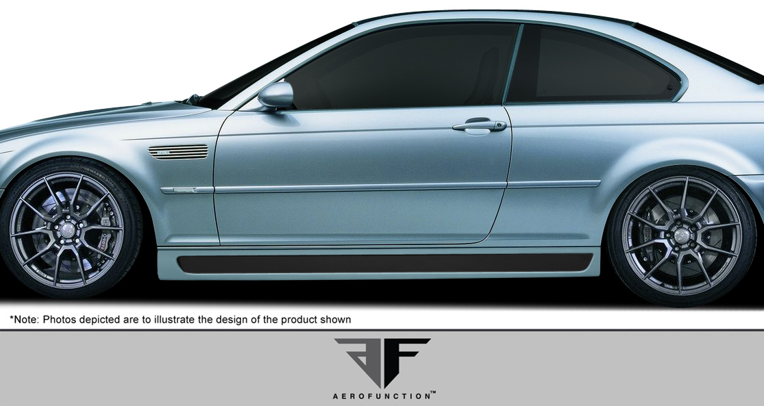 2003 BMW M3 2DR - Other Bodykit Bodykit - 2001-2006 BMW M3 E46 2DR AF-2 Body Kit ( GFK CFP ) - 4 Piece - Includes AF-2 Front Add-On Spoiler (107888) A