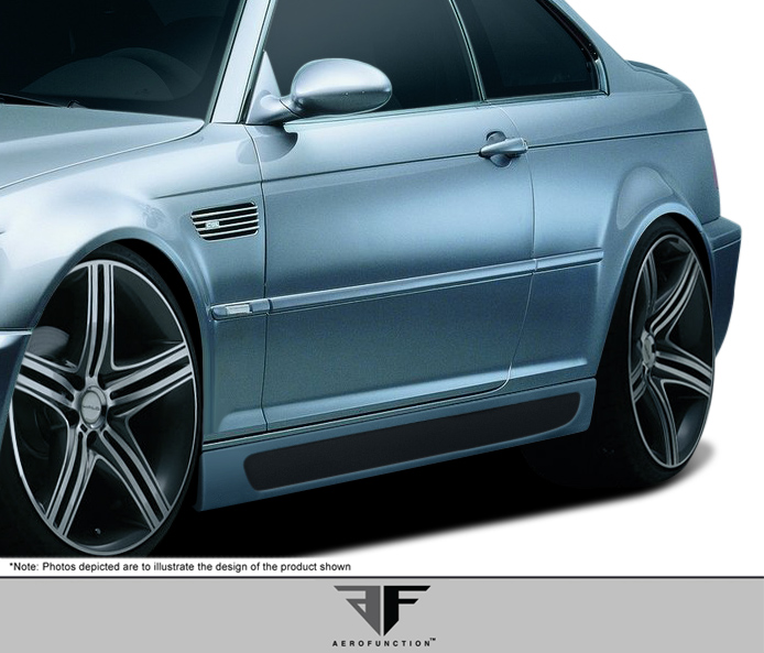 2001 2006 bmw m3 e46 2dr af 2 body kit gfk 4 piece. Black Bedroom Furniture Sets. Home Design Ideas