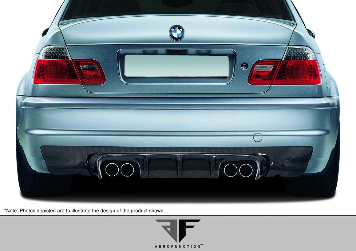 2005 BMW M3 2DR - Other Bodykit Bodykit - 2001-2006 BMW M3 E46 2DR AF-2 Body Kit ( GFK CFP ) - 4 Piece - Includes AF-2 Front Add-On Spoiler (107888) A