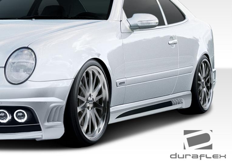 98 02 mercedes clk w 1 duraflex full body kit 108057 ebay for Mercedes benz clk body kit