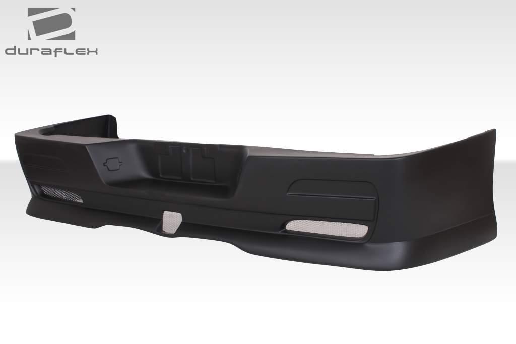 2007 2013 toyota tundra duraflex bt design rear bumper cover 1 piece body kit ebay. Black Bedroom Furniture Sets. Home Design Ideas