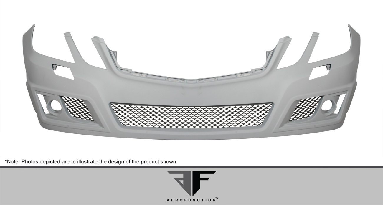2012 Mercedes E Class 4DR - Polyurethane Bodykit Bodykit - 2010-2013 Mercedes E Class W212 AF-2 Body Kit (base model) ( PUR-RIM ) - 4 Piece - Includes