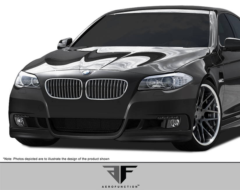 2011 BMW 5 Series 4DR - Fiberglass+ Body Kit Bodykit - BMW 5 Series F10 4DR AF-2 Body Kit ( GFK ) - 6 Piece - Includes AF-2 Front Bumper Cover (108169