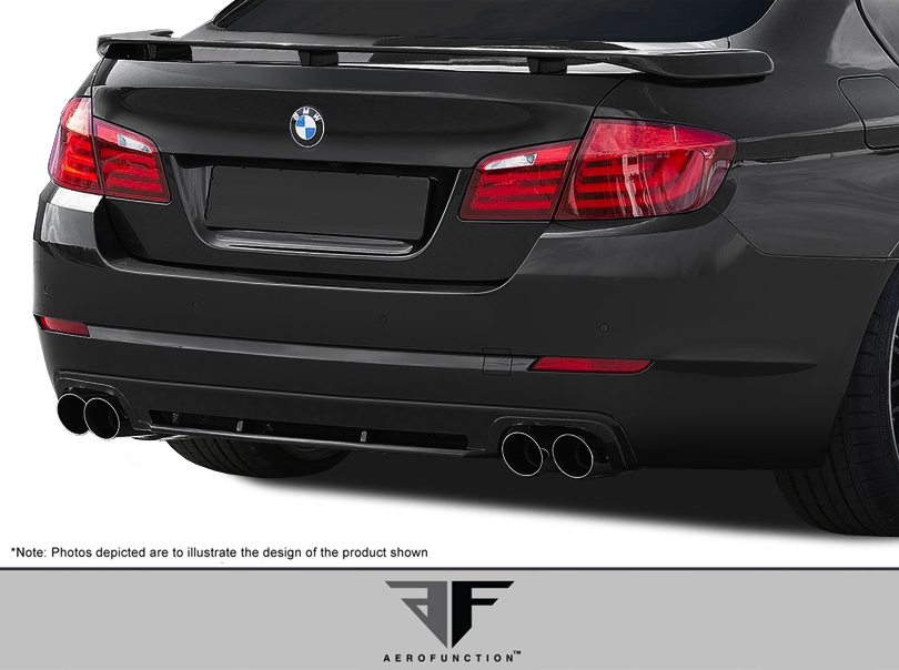 2012 BMW 5 Series 4DR - Fiberglass+ Body Kit Bodykit - BMW 5 Series F10 4DR AF-2 Body Kit ( GFK ) - 4 Piece - Includes AF-2 Front Bumper Cover (108169