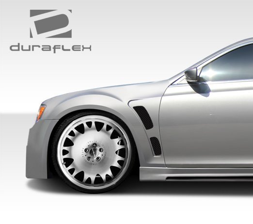 2011-2015 Chrysler 300 Duraflex Brizio Front Fenders - 2 Piece Body