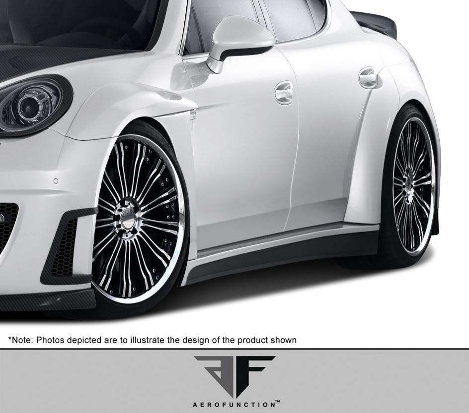 2010-2015 Porsche Panamera Urethane AF-1 Wide Body Front