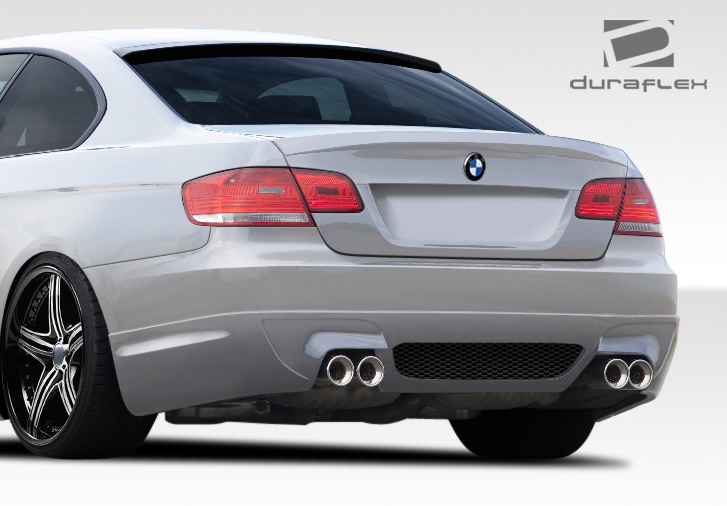 extreme dimensions 2007 2013 bmw 3 series e92 e93 convertible 2dr duraflex lm s rear bumper. Black Bedroom Furniture Sets. Home Design Ideas