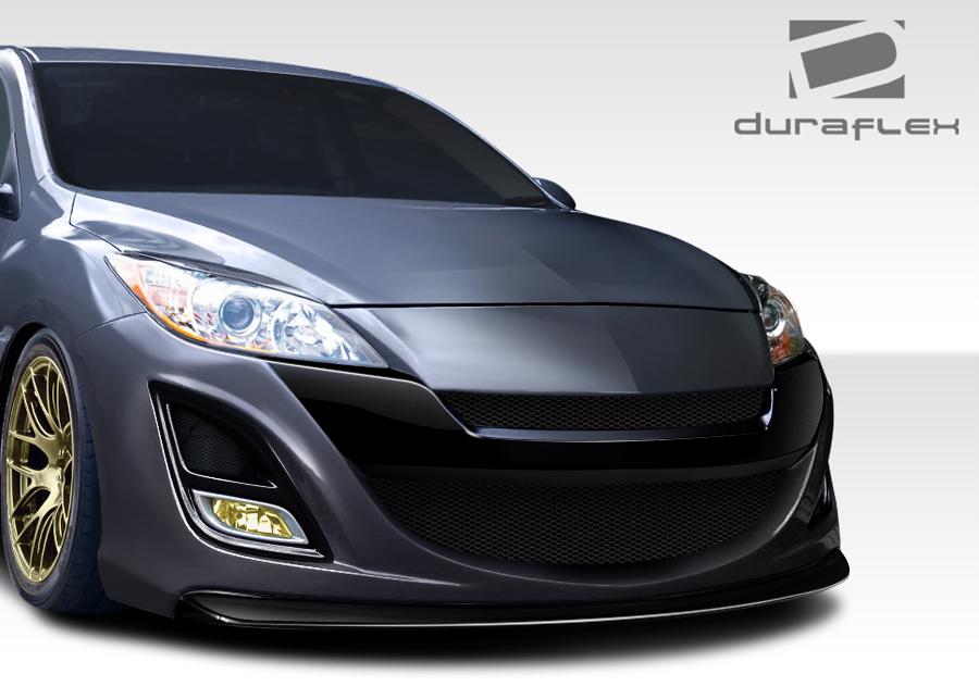 Extreme Dimensions 2010 2013 Mazda3 Duraflex X Sport Front Bumper