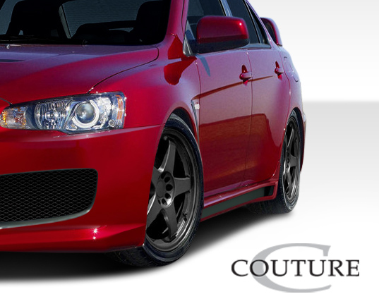 Body Kit Bodykit for 2015 Mitsubishi Evolution ALL - Mitsubishi Lancer Evolution 10 Couture C-Speed Kit - 4 Piece - Includes C-Speed Front Bumper Cove