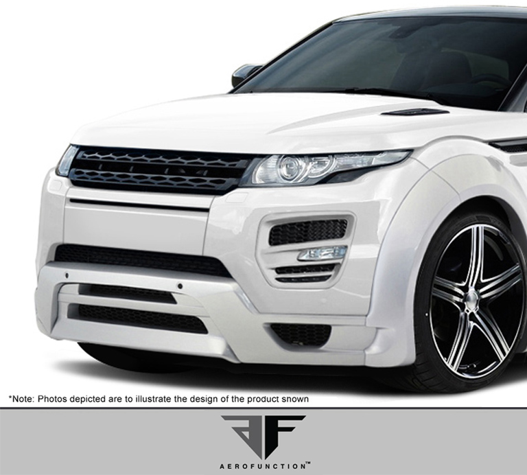 2014 Land Rover Evoque Front Lip/Add On Body Kit